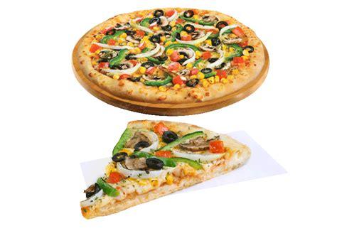 domino pizza ukuran large berapa slice veggie mania