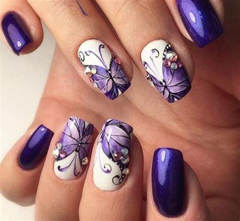 imagenes uñas decoradas con mariposas im 225 genes de u 241 as decoradas con dise 241 os de mariposas y