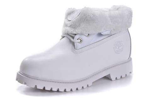 all white timberland boots for timberland authentic s roll top wool winter boot all white