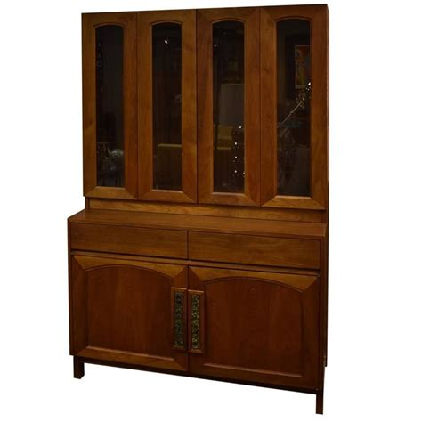 teak china cabinet two teak china cabinet designed by keal for brown saltman for sale at 1stdibs