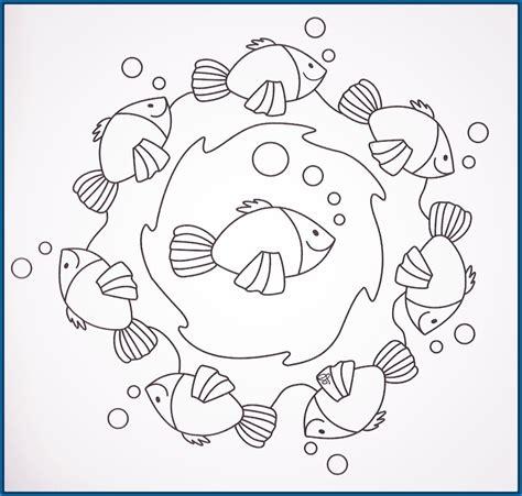 dibujos infantiles para colorear faciles dibujos para colorear de mandalas infantiles archivos