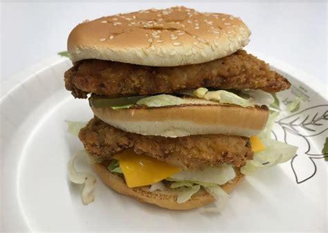 Mac Chicken we tried mcdonald s secret chicken big mac and it s a