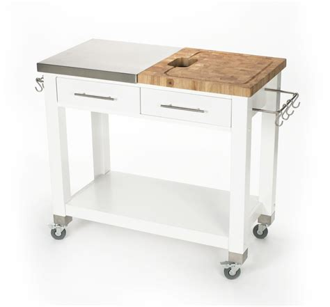 stainless steel butchers block kitchen island cart kitchen island carts for sale