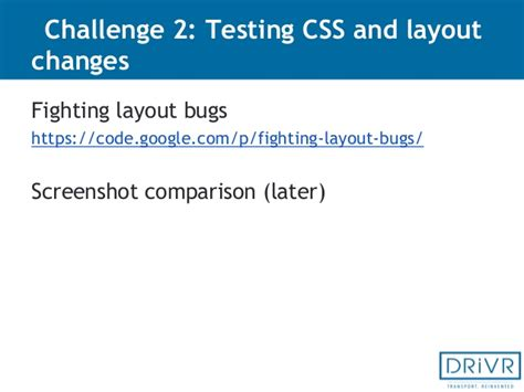 fighting layout bugs exles gediminas guoba test automation best practices