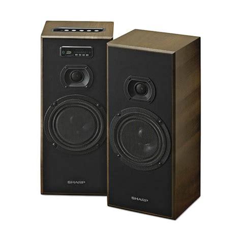 Speaker Aktif Sharp Cbox Asp250bl jual sharp cbox b635ubo active speaker harga