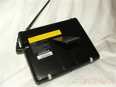 Lcd Portable 7 quot axion axn 8701 portable handheld widescreen lcd digital tv technogog