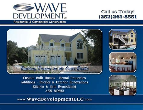wave development home builder s ad