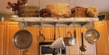 Hanging Pot Rack Small Kitchen Diy Hanging A Kitchen Pot Rack The Modern