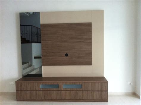 konsole wand tv console tv feature wall simple closet s pte ltd