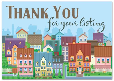 Thank You Letter Real Estate realtor postcards harrison greetings business greeting