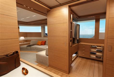 Cabin Changing Room by Martinique Luxury Yacht Moonen Construction Yacht