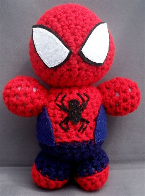 pattern for crochet spiderman doll crochet stuffies spiderman crochet doll stuff i want