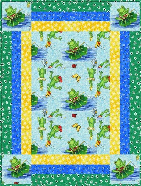 Baby Quilt Patterns by Rockin Robin Baby Quilt By Lynbrown Quilting Pattern