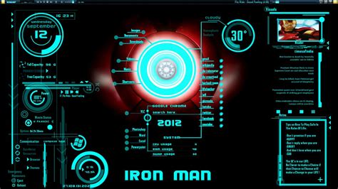 themes download cm ironman jarvis theme download by hell999 on deviantart