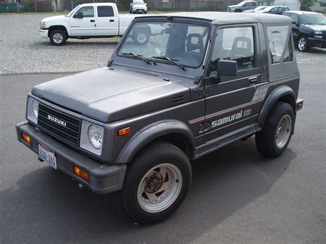 Suzuki Samuari Suzuki Samurai History Photos On Better Parts Ltd