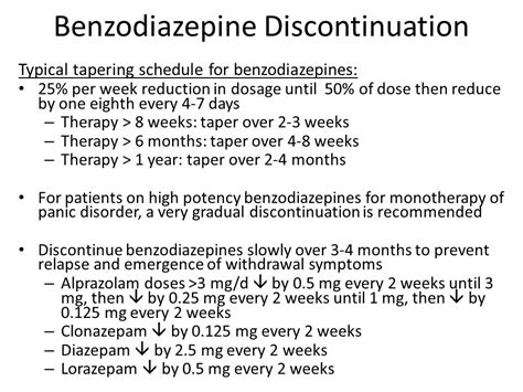 Detox Schedule For Xanax by T Melton Pharmd Bcpp Cgp Ppt