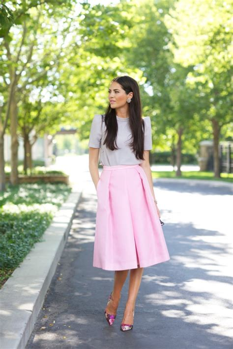 17 gorgeous midi skirt that you will absolutely