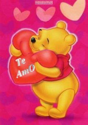 imagenes de winnie pooh diciendo te amo hay mi amor no te imaginas lo mucho que te amo c y a