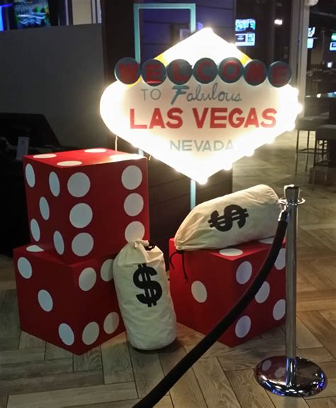 casino theme party services casino decorations  props
