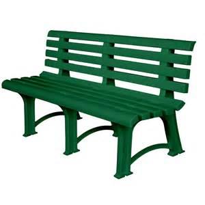 banc de jardin atena 149 cm vert atenav achat