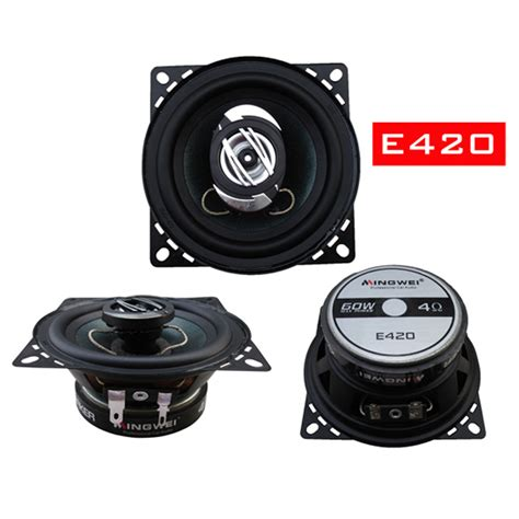 Speaker Subwoofer 5 Inch car audio speaker 4 inch 5 inch 65 inch coaxial speakers subwoofer car pack high school in multi