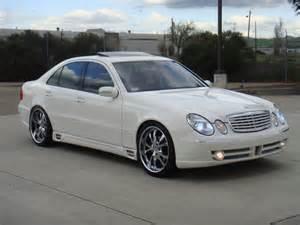 Mercedes E350 Forum 06 E350 Lorinser F01 White Black Low 28995