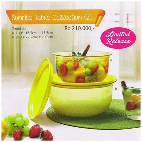 Tupperware Collection Promo table collection tupperware promo sept 2014