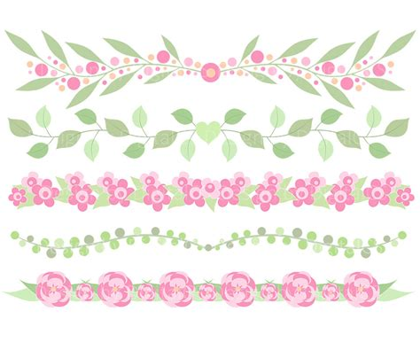 Home Flower by Free Flower Banner Clipart 12