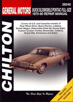 motor repair manual 1992 oldsmobile 98 auto manual electra lesabre delta 88 98 bonneville repair manual 1975 1990