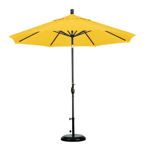 california umbrella 9 ft aluminum push tilt patio