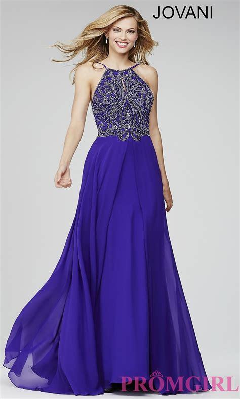 beaded top prom dress high neck beaded top jovani prom dress promgirl