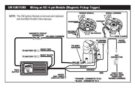 msd 6al 6420 wiring diagram gm go kart wiring