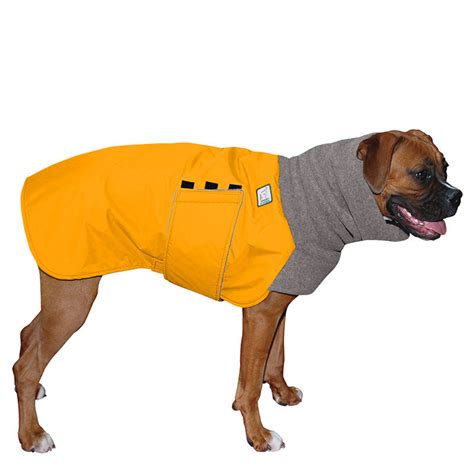 jacket for dogs boxer winter coat waterproof jacket for dogs fleece