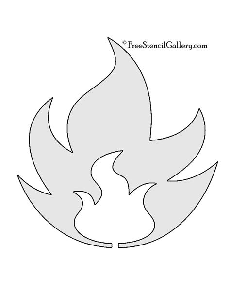 printable pumpkin stencils pokemon pokemon fire type symbol stencil free stencil gallery