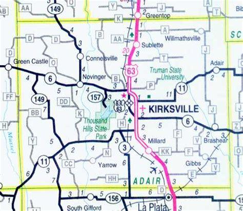 map missouri and kentucky adair county map missouri missouri hotels motels