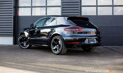porsche macan all black 2016 porsche macan turbo weissach