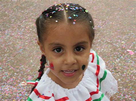 little girl mexican model mexican independence day in ajijic september 16th