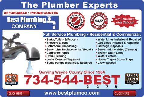 Plumbing Adverts find livonia plumbers plumber livonia mi