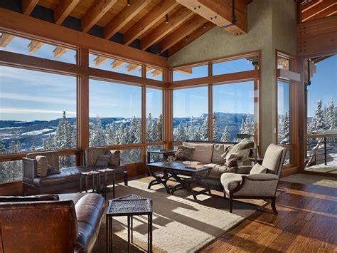 ski house private mountain ski house highline partners progressive bozeman and big sky
