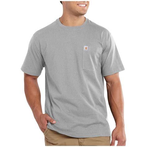 T Shirts carhartt maddock pocket sleeve t shirt 590858 t shirts at sportsman s guide