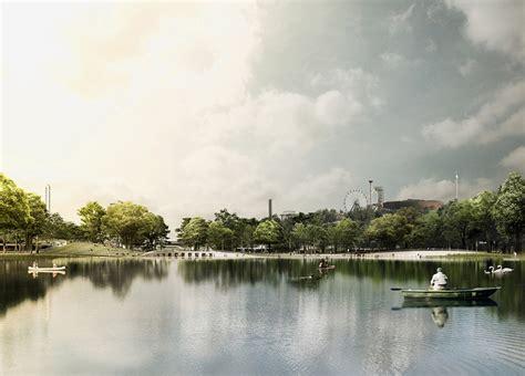 designboom helsinki cobe to transform polluted helsinki bay into vast public park