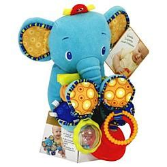 Bright Starts Bunch O Elephant T2909 4 bright starts plush and elephant bunch o duo