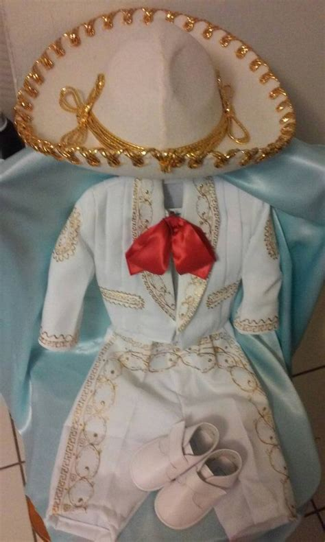 charro gala outfit  hat  baby  boys baptism  de mayo mexican party mariachi
