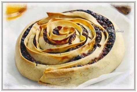 pitta mpigliata di san in fiore pitta mpigliata dolce calabrese le torte di marilena