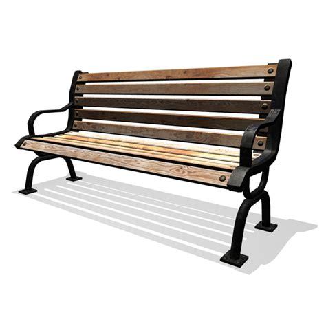 bench 3d model classic park bench 3d obj