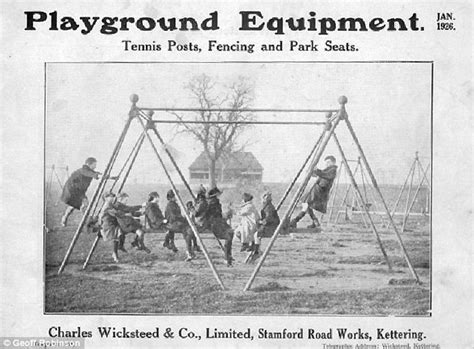 past of swing is this the world s first playground swing newly