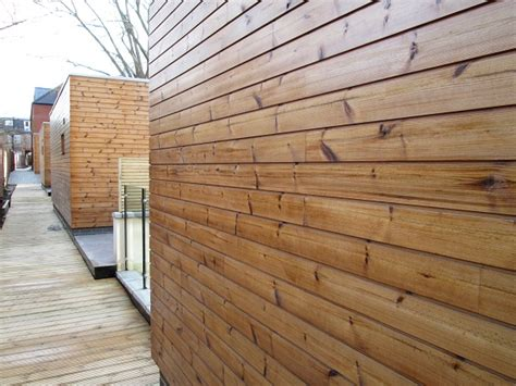 Treated Shiplap Cladding Thermowood