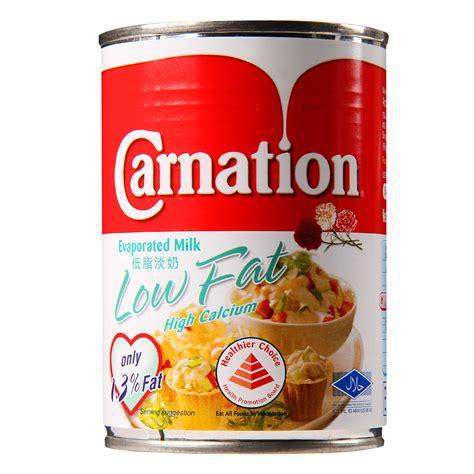 F N Evaporasi Evaporated Creamer carnation low evaporated milk 405g from redmart