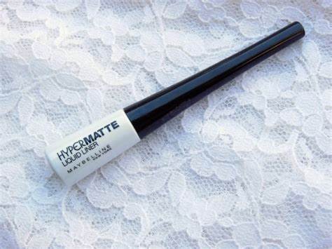 Eyeliner Hypermate Maybelline is it matte enough maybelline hypermatte liquid eye liner black fashion lifestyle