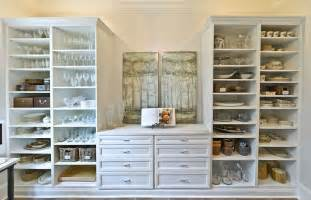 a beautifully organized butler s pantry minus the butler